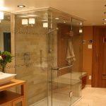Phòng tắm kính cường lực 10mm tại quận 1, quận 2 hcm