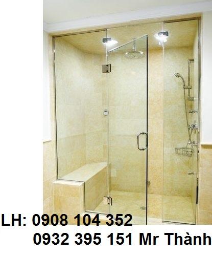 vách kính phòng tắm