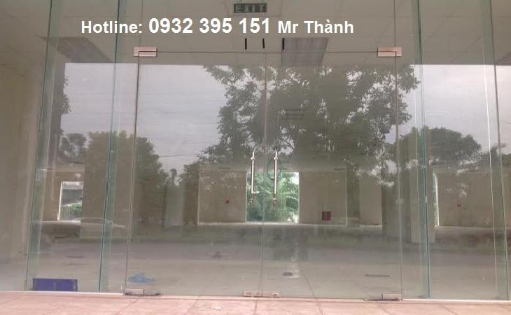 Thi công Cửa kính cường lực quận Tân Bình