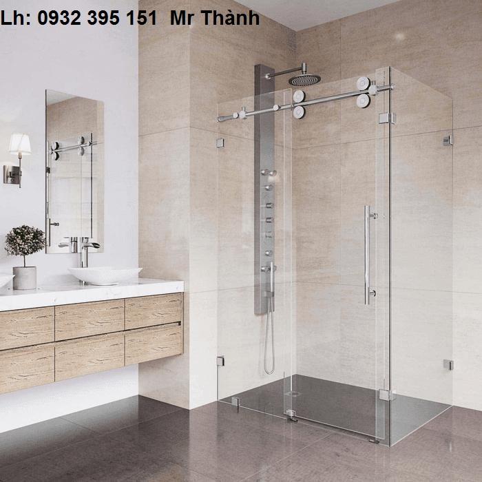 báo giá lắp đặt cửa kính phòng tắm quận Tân Phú