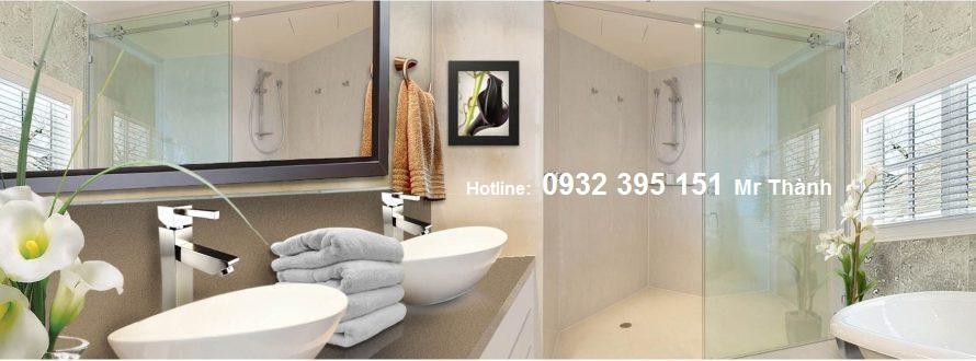 lắp đặt vách tắm kính giá rẻ Quận Tân Bình