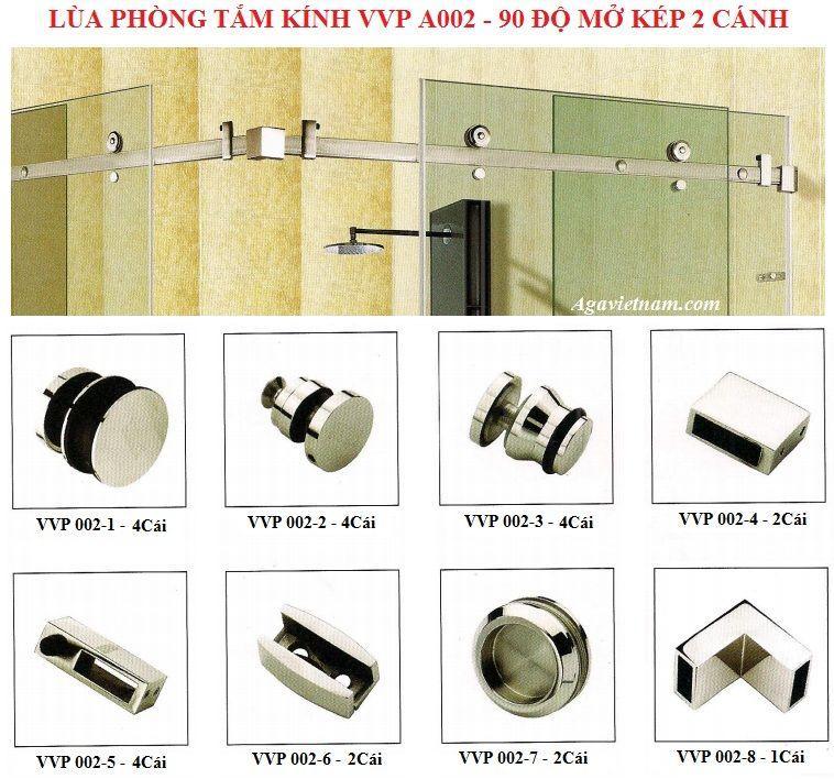 lắp đặt cửa kính cường lực phòng tắm hiện đại