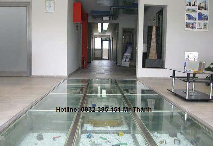 Báo giá sàn kính cường lực tốt nhất quận Bình Tân