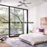 Vách kính 10ly cho phòng ngủ sang trọng giá rẻ