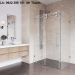 vách kính phòng tắm có đặc điểm ứng dụng gì?