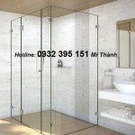 Ưu điểm nổi bật vách tắm kính cửa mở 90 độ