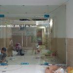 Cửa kính cường lực gia đình tại quận Bình Thạnh